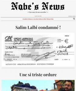 Nabe's News - Numéro 15 - Salim Laïbi - Naïma Haoulia - Emmanuel Pierrat - Raffael Enault