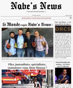 Nabe's News - 07 juillet 2017
