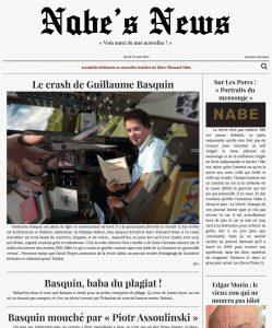 Nabe's News - Numéro 6 - Guillaume Basquin - Salim Laïbi - Raphaël Juldé - Pierre Cormary
