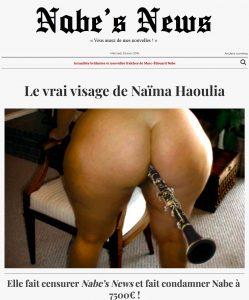 Nabe's News - Numéro 16 - Naïma Haoulia - Cyrille Vignon - Baudelaire - Emmanuel Pierrat - Salim Laïbi - Claude Lanzmann - Stéphanie Palhon