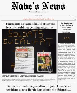 Nabe's News - 20 juin 2017 - Adam Djaziri - Quentin Rouchet