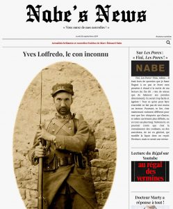 Nabe's News - Numéro 7 - Yves Loffredo - Virginie Hairanian - Elisabeth Quin